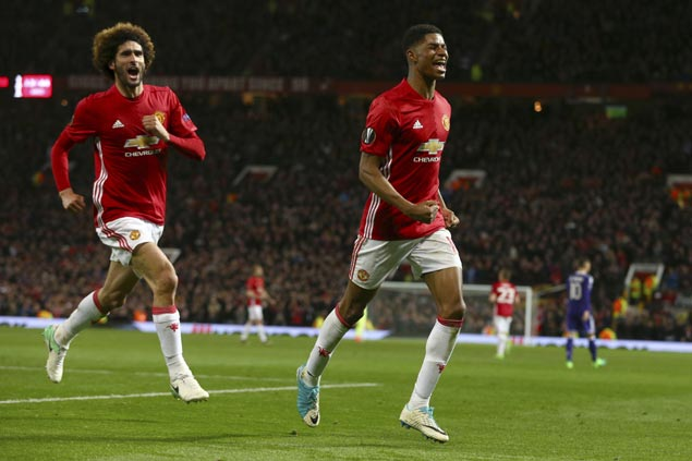 Marcus Rashford nets extra-time winner to lift Manchester United into Europa League semis