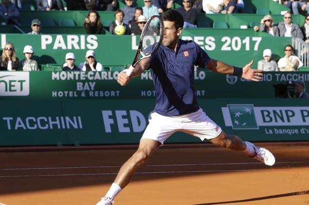 Novak Djokovic avoids upset, Andy Murray suffers shock defeat at Monte Carlo
