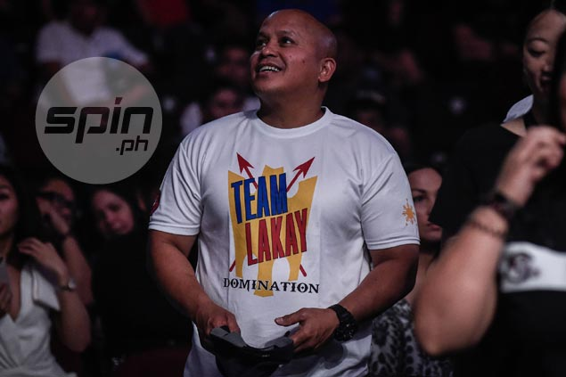 PNP chief 'Bato' Dela Rosa shows full support to 'hometown hero' ONE champ Eduard Folayang
