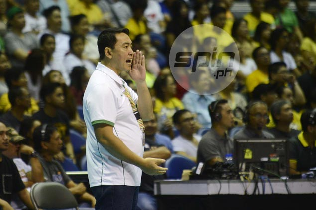 Media silence for Ramil de Jesus as Lady Spikers prepare for finals grudge match