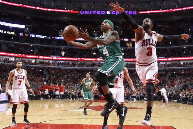 Celtics get much-needed jolt from expletive-laced KG video, smiling Thomas pep talk to beat Bulls