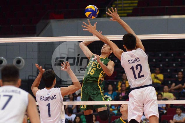 FEU scores four-set win over NU to force rubber match for finals spot in UAAP volleyball