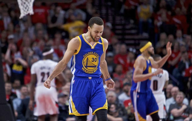 Warriors struggle without Steve Kerr but Steph Curry comes up huge to seal win