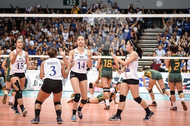 Ateneo Lady Eagles, UST Tigresses spice up action in PSL final at MOA Arena