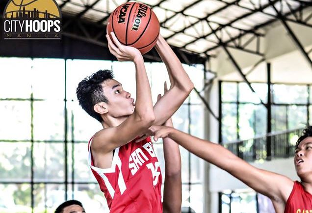Batang Gilas cager Joshua Lazaro banners young San Beda Team B squad in NBTC title defense