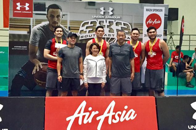 Enrico Llanto stars as SAGBAF Enterprises wins rules Cebu leg of UA 3x3 basketball