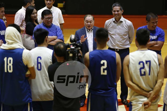 MVP raises morale as Gilas buildup kicks into high gear with games vs PBA All-Stars