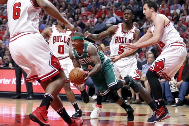 Isaiah Thomas fires back on Bulls coach's 'carrying' claim: 'That's not why I'm impossible to cover'