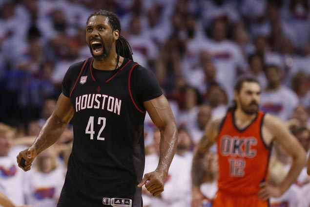 Nene reluctant to discuss big game for Rockets even as he earns praise from Mike D'Antoni