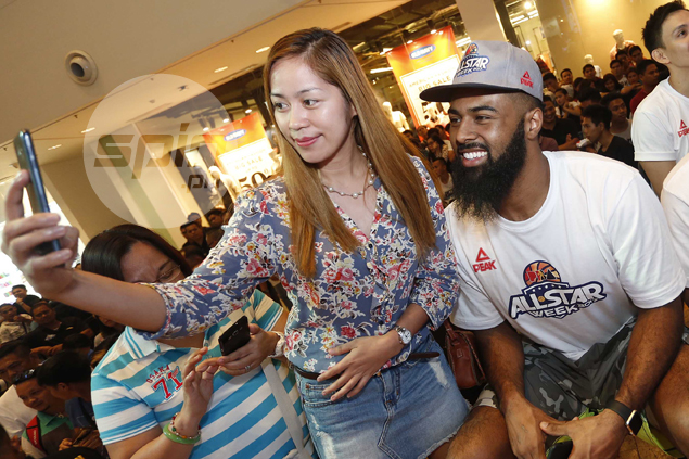Gilas, PBA cage heroes turn on the charm in CDO ahead of All-Star game. See IMAGES