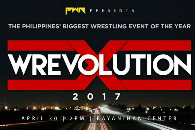 Three PWR titles at stake in biggest Pinoy wrestling showcase of the year in 'Wrevolution X'