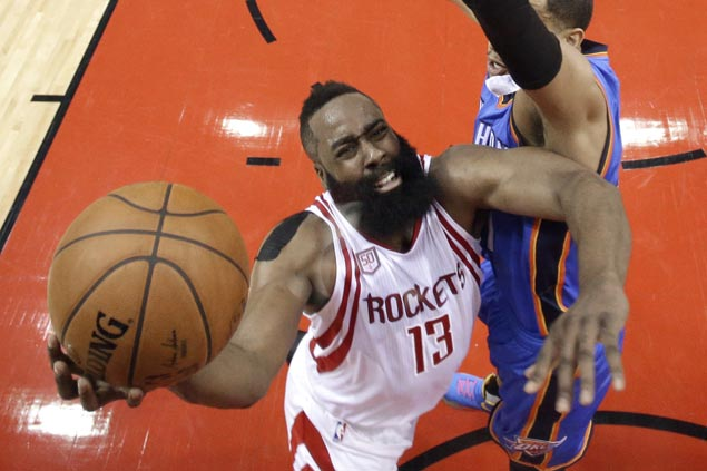 Rockets eliminate Thunder in five games to reach Western Conference semifinals