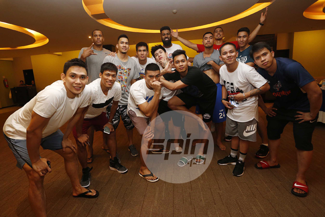 Mindanao All-Stars not backing down against Gilas - either on court or on dance floor