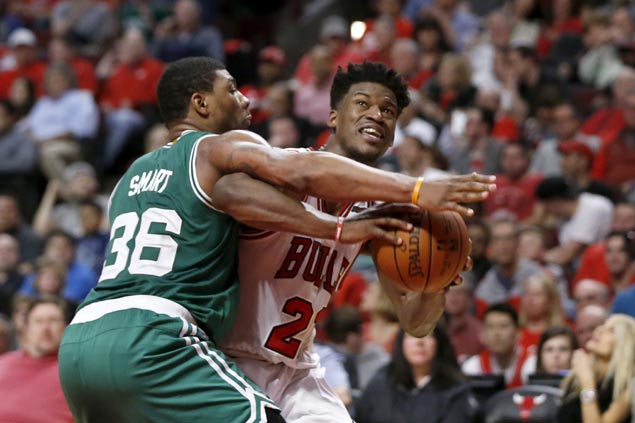 Marcus Smart takes exception to Jimmy Butler dig as tension builds ahead of pivotal Game 5