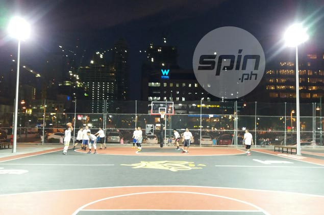 Titan brings playground basketball to heart of BGC business district with blacktop courts