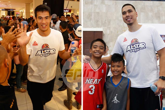 Warm CDO reception makes Mindanao All-Star 'imports' Troy Rosario, Sonny Thoss feel at home