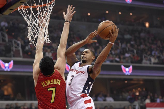 Wizards regain series lead over Hawks with Game Five squeaker
