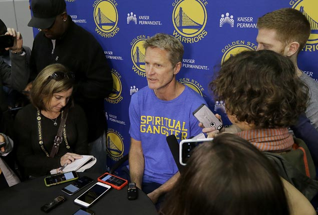 Steve Kerr's return to Warriors bench still uncertain as NBA Finals draws near