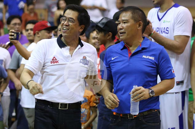 Chot Reyes feels draw against Mindanao All-Stars a 'good omen' for Gilas. Here's why