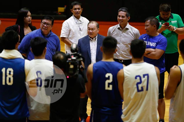 Odd feeling for Pangilinan as he sees new faces in place of RDO and Co. at Gilas