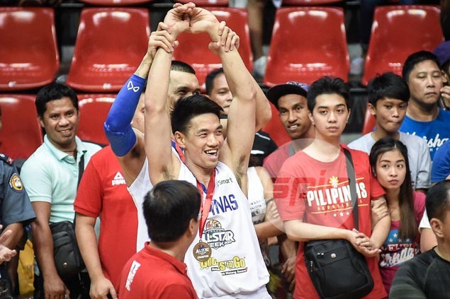 Day to remember for Allein Maliksi as PBA three-point king earns dream Gilas call-up