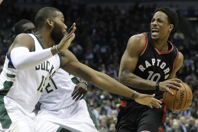Raptors recover from blowing 25-point lead to finish off Bucks, seal conference semis duel vs Cavs