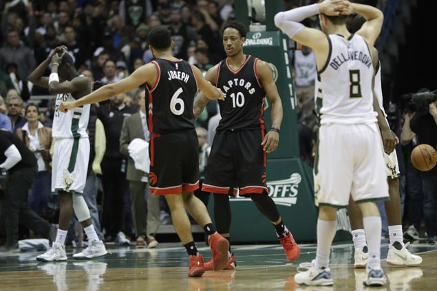 Resilient Raptors pass tough Bucks test, ready to prove doubters wrong in Cavs rematch