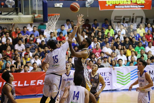 Mo Tautuaa block on Fajardo exactly the type of competition Gilas needs from All-Stars