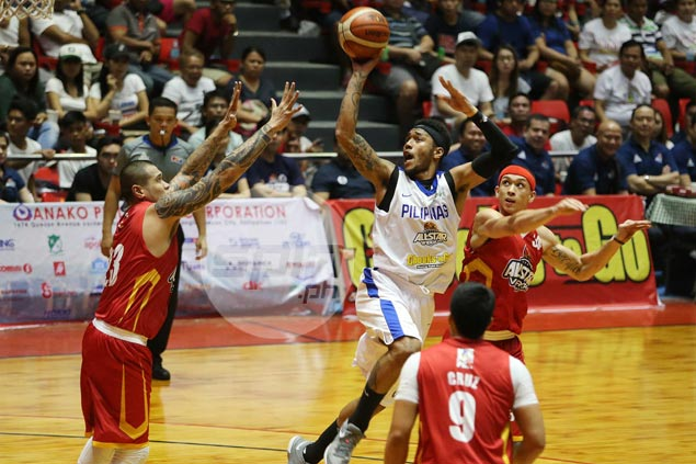 Abueva, Romeo lead fightback as Gilas beats Visayas selection in first game together