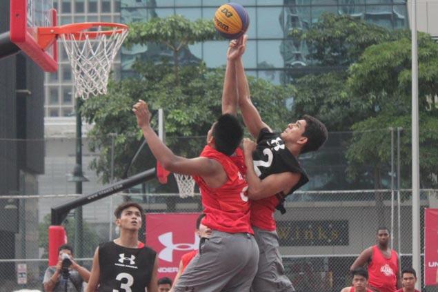 University of Cebu Webmasters win Under-18 division of UA3x3 tournament