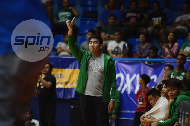Aldin Ayo says loss to JRU an eye-opener as young La Salle core adjusts to bigger roles