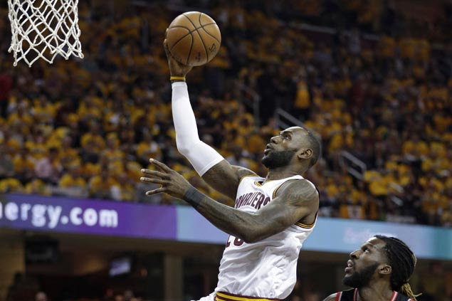 Cavaliers cruise to victory over Raptors in conference semis opener