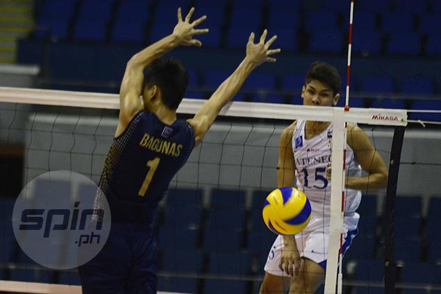 Ateneo vents ire on NU, as UST keeps UE winless in UAAP men's volleyball