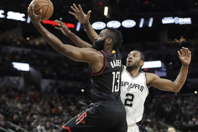 Hot-shooting Rockets proud to show defensive teeth in Game One rout of Spurs