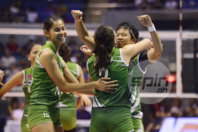 Talismanic Kim Fajardo says Game Two will be a 'test of character' for Lady Spikers