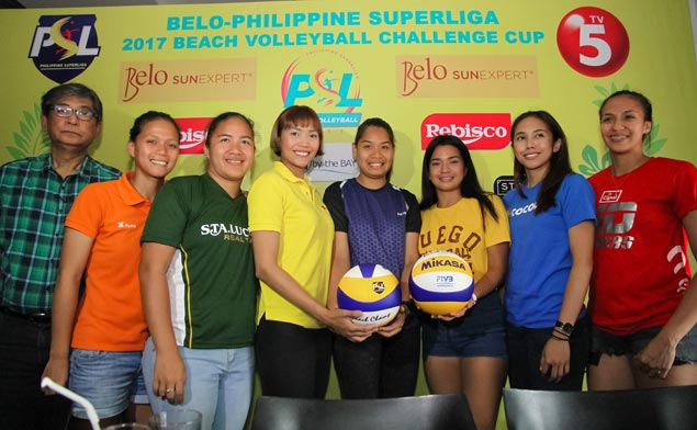Gonzaga, new partner Morada brace for tough challenge in PSL Beach Volley Challenge Cup