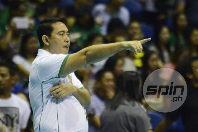 Ramil de Jesus insists there's no such thing as closed-door practice for La Salle
