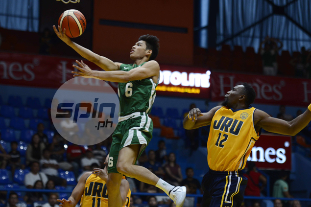 Ricci Rivero thrives in bigger role at La Salle after depature of Teng, Torres
