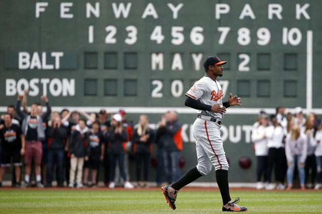 Red Sox apologize for fans 'inexcusable' behavior after racist taunts on Orioles' Adam Jones