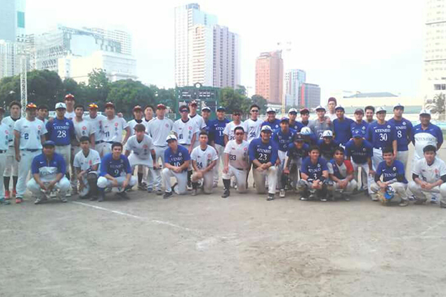 Goodwill games between UAAP teams, HK squad jumpstart formation of PH baseball team