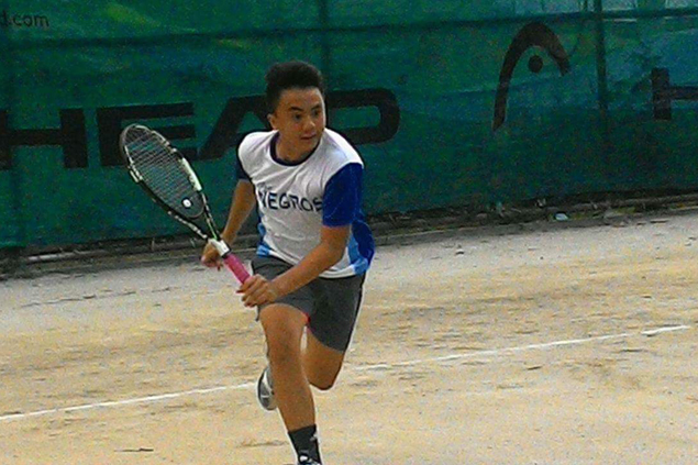 Hometown bet Jufe-an Cocoy stands out in Bacolod stop of HEAD Jr. tennis circuit