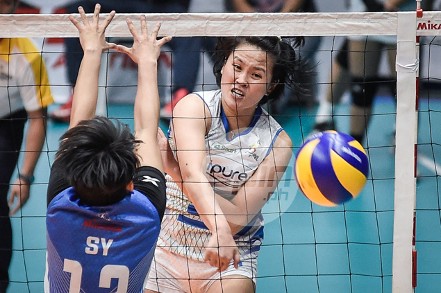 Gretchel Soltones stars as BaliPure stays perfect in PVL after rout of Pocari Sweat
