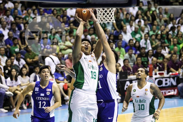 Former DLSU center Larry Muyang gets chance to revive basketball career at Letran
