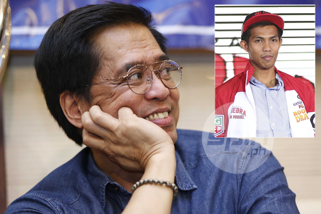 Narvasa not barring Jamito from dunk contest, but hopes he shows 'real skills' next time