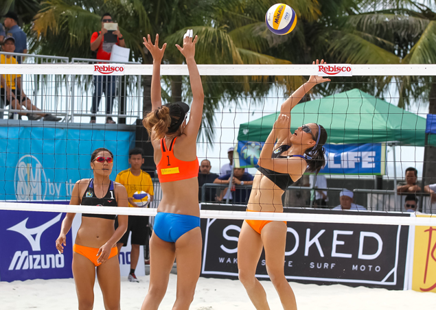 HD Spikers stun Cargo Movers to move on verge of advancing to PSL beach volley quarterfinals