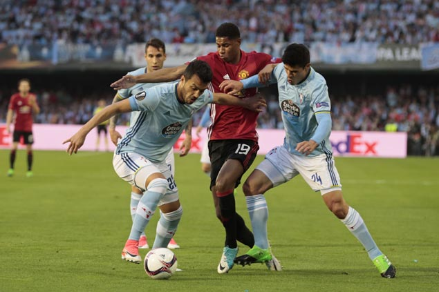 Marcus Rashford stars as Man United bags crucial away win over Celta Vigo in Europa League semis
