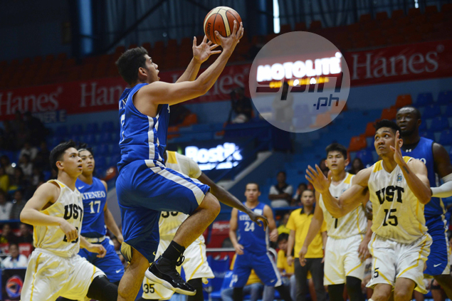 Ateneo Blue Eagles pull off romp, spoil Steve Akomo debut with UST Tigers