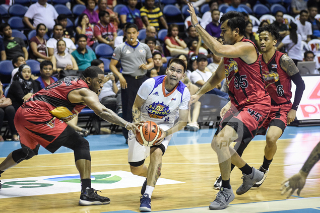 New boy RR Garcia exactly what doctor ordered for TNT in Castro, Pogoy absence