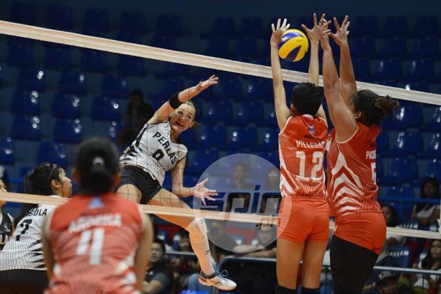 Perlas edges Power Smashers in five to get back on track in PVL
