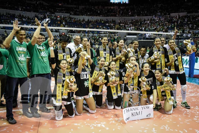 Sweet repeat for La Salle as Lady Spikers sweep rival Lady Eagles to claim Season 79 crown
